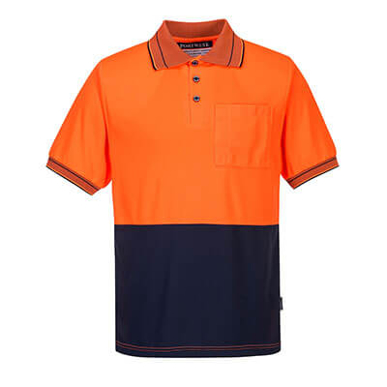 Picture of Prime Mover-MP110-Short Sleeve Micro Mesh Polo