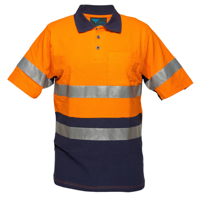 Picture of Prime Mover-MD619-Long Sleeve Cotton Pique Polo