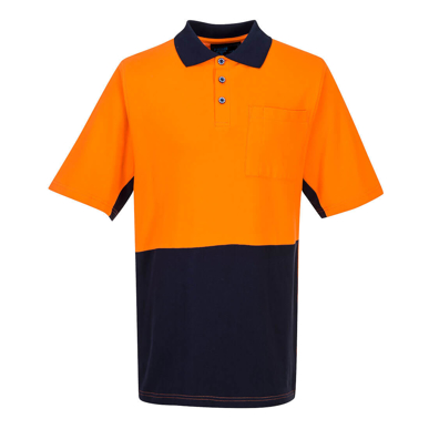 Picture of Prime Mover-MD618-Short Sleeve Cotton Pique Polo