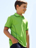 Picture of Bocini-CP0930-Stitch Feature Essentials-Kids Short Sleeve Polo