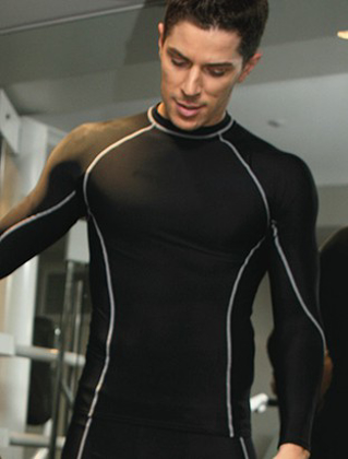 Picture of Bocini-CT0980-Performance Wear -Men's L/S Performance Top