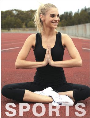 Picture of Bocini-CT1021-Ladies Gym Singlet