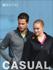 Picture of Bocini-CJ1453-Men's Light Weight Fleece Zip Through Jacket