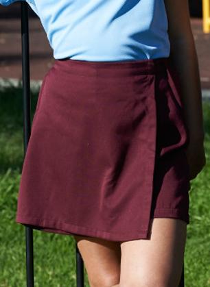Picture of Bocini-CK1305-Girls School Skort