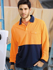 Picture of Bocini-SP0426-Unisex Adults Hi-Vis Safety Polo - Long Sleeve