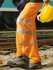 Picture of Bocini-SK311-Unisex Adults Hi-Vis Pants With Reflective Tape