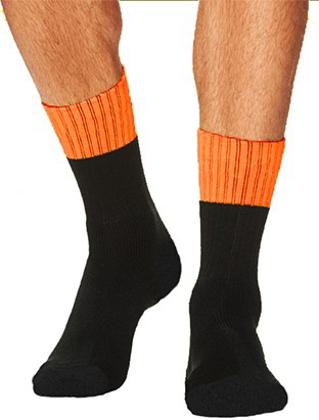 Picture of Bocini-SC1438-Unisex Adults Hi Vis Socks