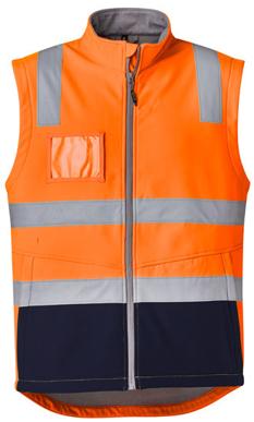 Picture of Syzmik-ZV426-Unisex Hi Vis Softshell Vest