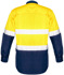 Picture of Syzmik-ZW129-Mens Rugged Cooling Taped Hi Vis Spliced Shirt