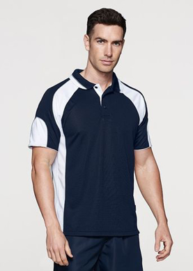Picture of Aussie Pacific - 1300-Murray Mens Polo Shirts