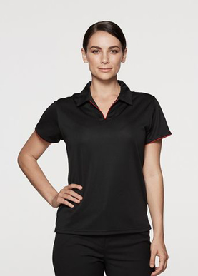 Picture of Aussie Pacific - 2302-Yarra Ladies Polo Shirts