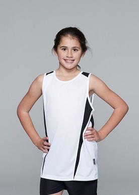 Picture of Aussie Pacific - 3104-Eureka Kids Singlet