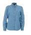 Picture of Identitee-W50(Identitee)-Ladies Long Sleeve Denim Shirt