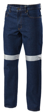 Picture of Hardyakka-Y03513-DENIM JEAN WITH REFLECTIVE TAPE