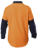 Picture of Hardyakka-Y07984-HI VIS 2TONE COTTON DRILL CLOSED FRONT SHIRT LONG SLEEVE